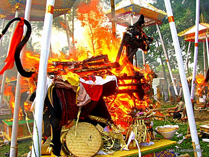 Bali Cremation Ceremony