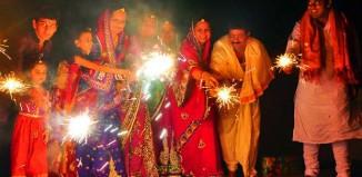 Celebrating Diwali in Indonesia