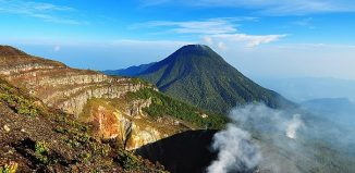 Hiking Gede-Pangrango National Park