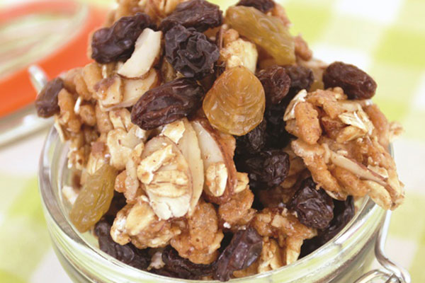 Honey, Nuts and Raisins