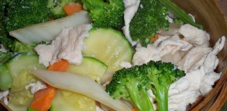 Steamed Chicken & Vegetables