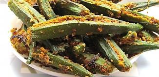 stuffed bhindi