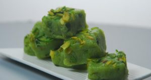 How to Make Vegan Pista Burfi
