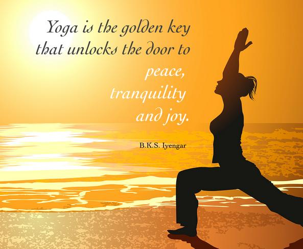 Happiness is Yoga