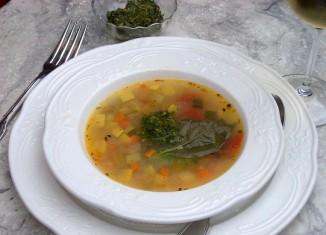 Pistou Vegetable Soup