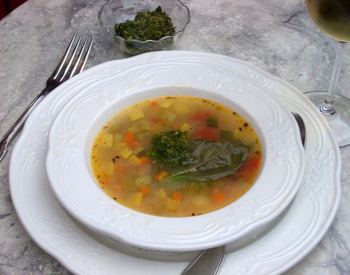Pistou Vegetable Soup