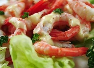Salad Udang mayonaise