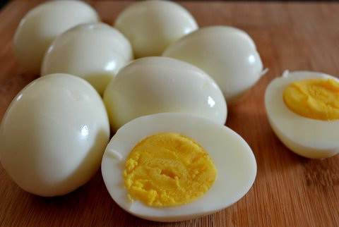 Hard Boiled Perfect Eggs