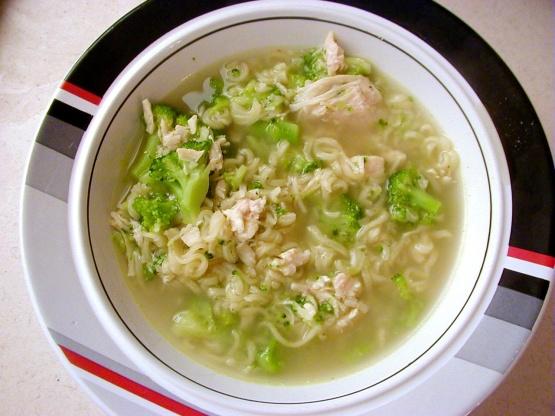 Ramen Fireside Chicken Soup