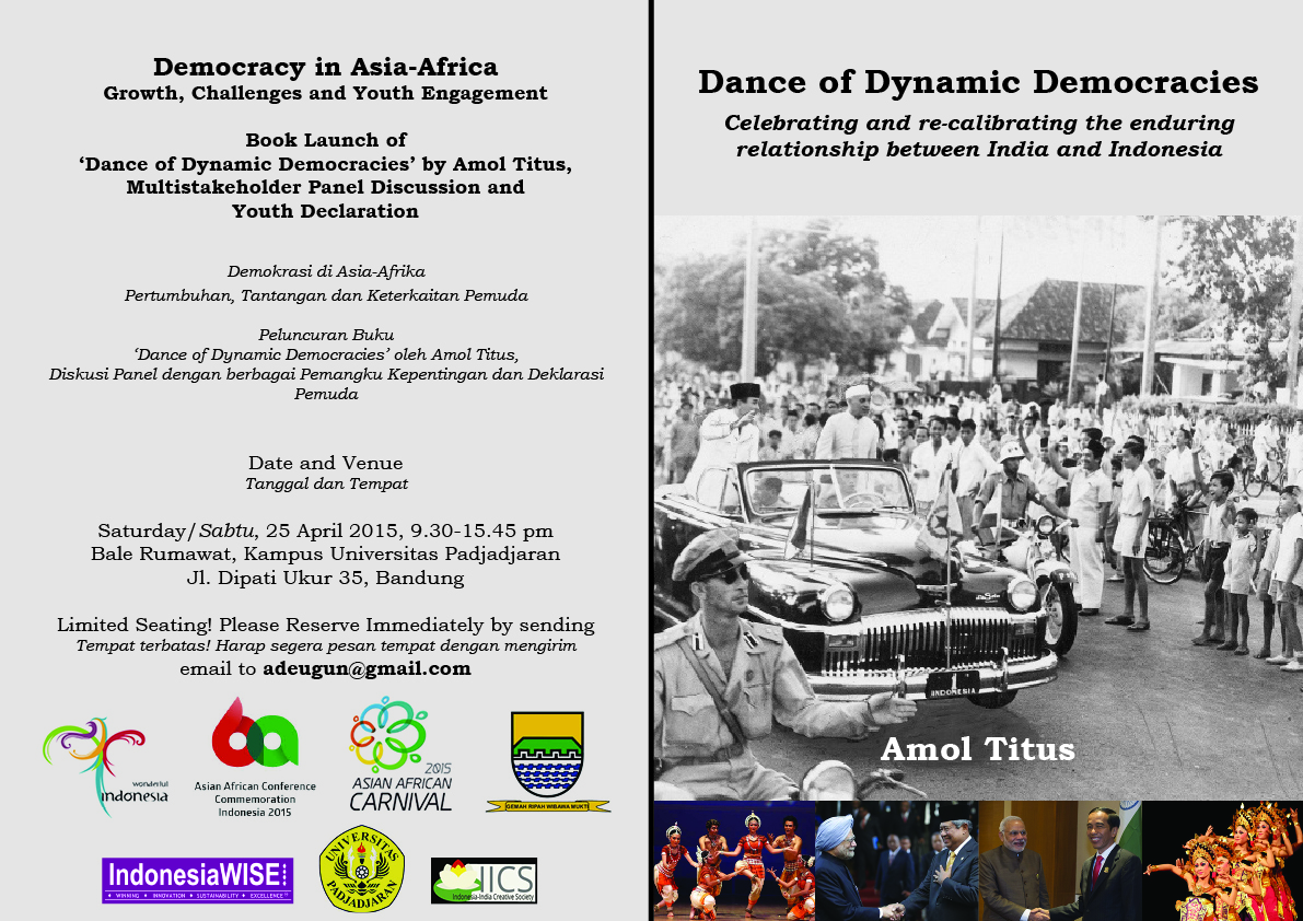 Book Launch of 'Dance of Dynamic Democracies' by Amol Titus