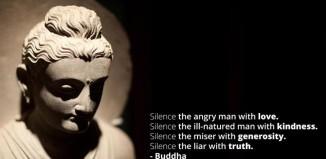 THE SILENCE OF BUDDHA