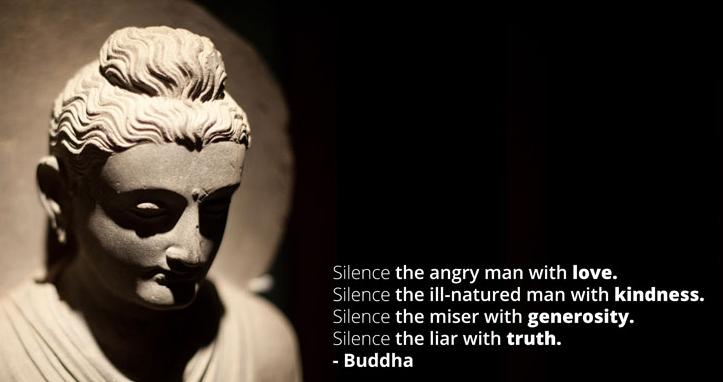 THE SILENCE OF BUDDHA