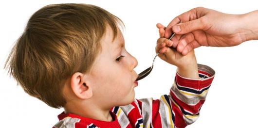 Giving Medicine to Children
