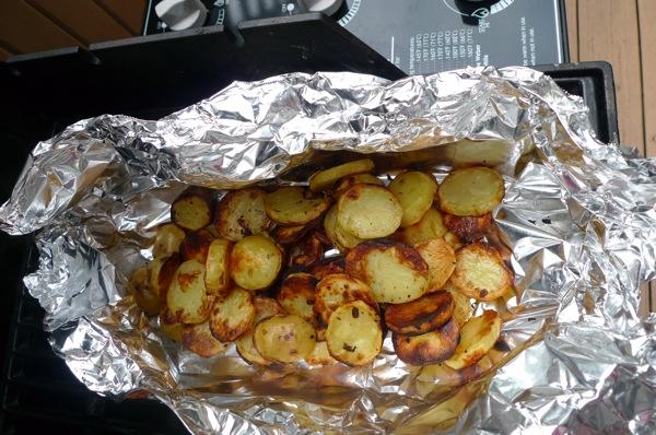 Grilled Potato