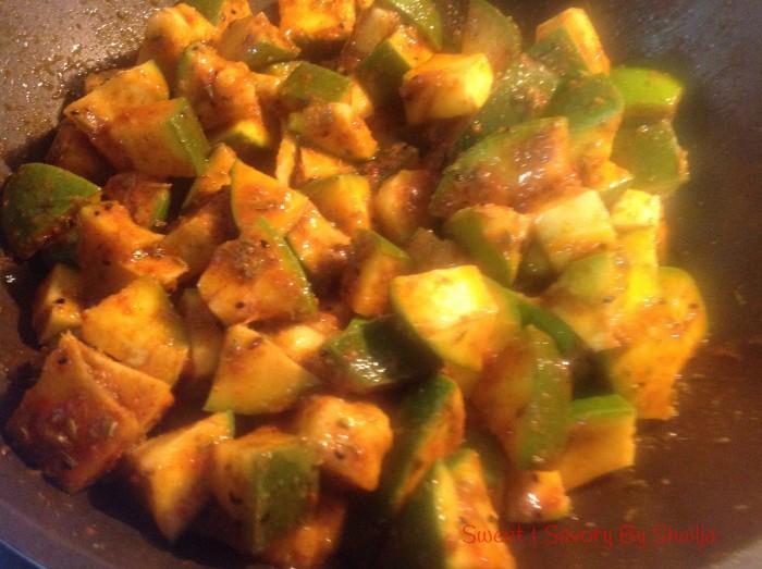No Oil Mango Pickle achaar