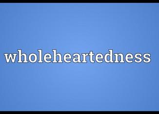 Pillar 6 to Optimum Wholeheartedness