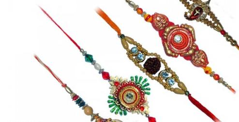 Different Silk Rakhis