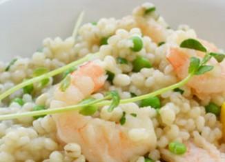 Shrimp Risotto (Barley)