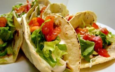 Tacos vegetarian