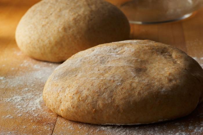 Whole - Wheat pizza dough