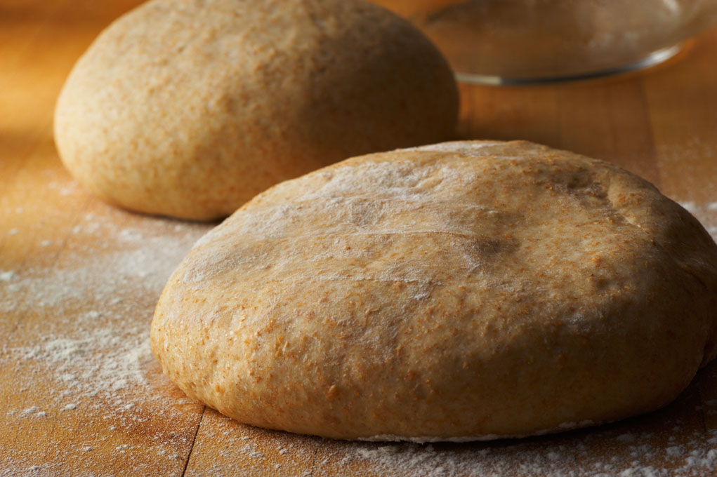 Whole - Wheat pizza dough