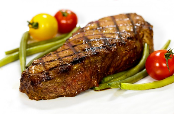barbeque marinated steak