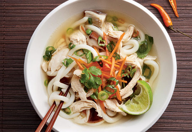 Classic Beanthread Noodle Soup with Chicken
