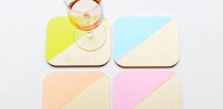 Make Colourful Coasters