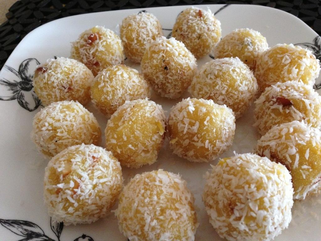 Coconut Laddoos