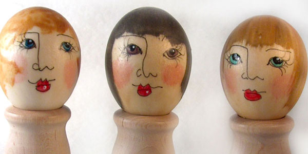 Egg Shell Faces