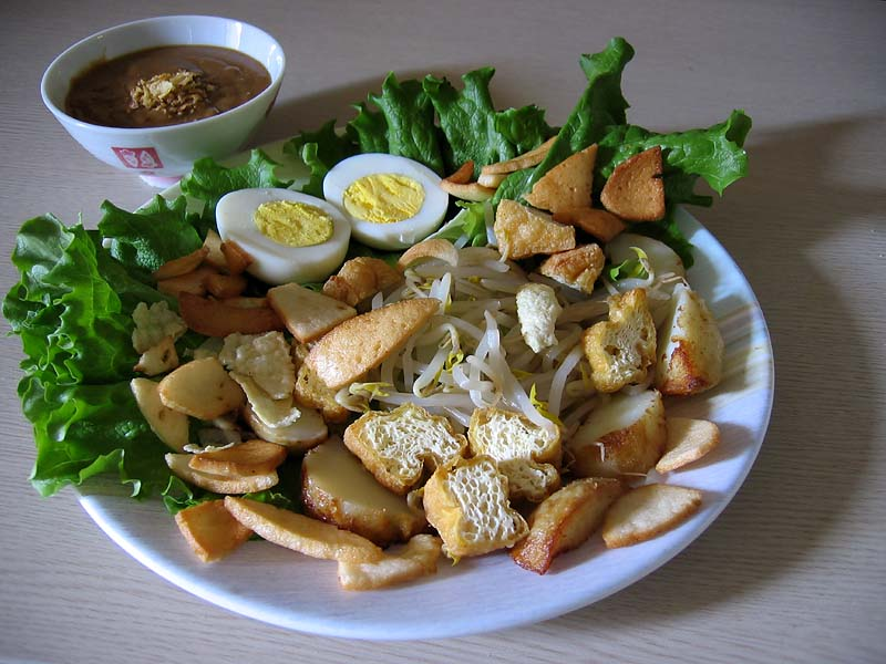 Indonesian Salad (Gado-Gado)