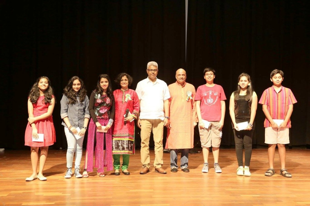 Prize Giving to Painting Competition Winners