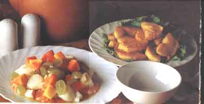 papaya and seafood