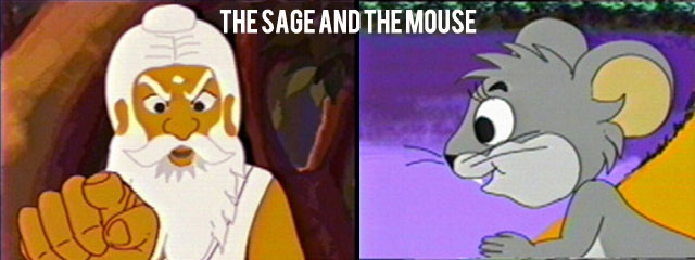 The Story of Sage and a Mouse