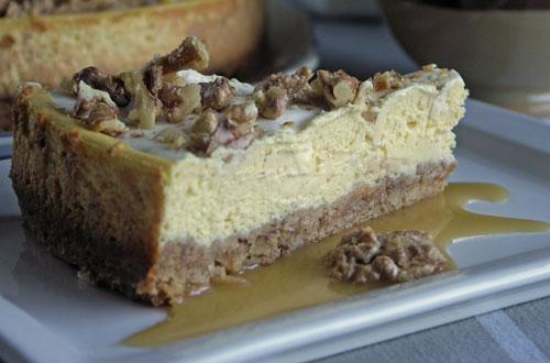 Walnut Cheesecake