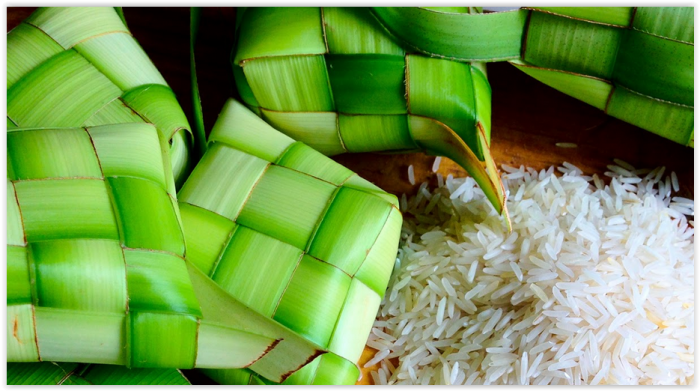 Ketupat: Traditional Rice Cakes