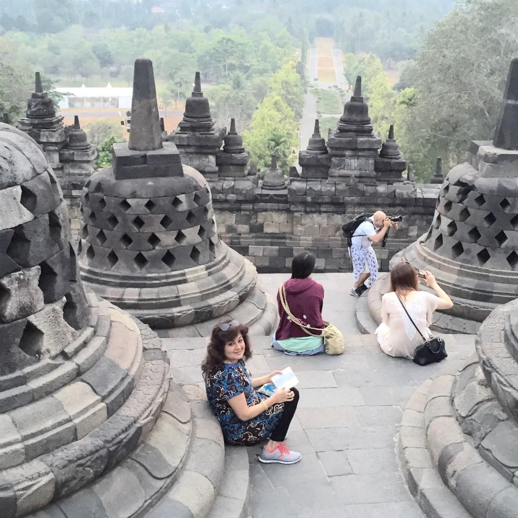 Geeta's Borobudur Experience