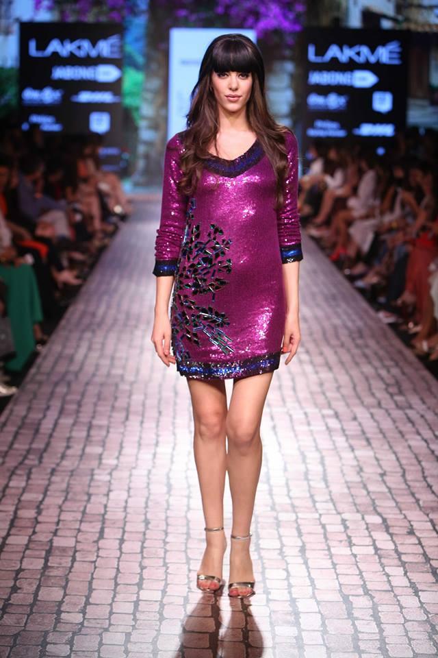 Lakme Fashion Week Winter Festive 2015 - Day 4 with Monisha JaiSingh