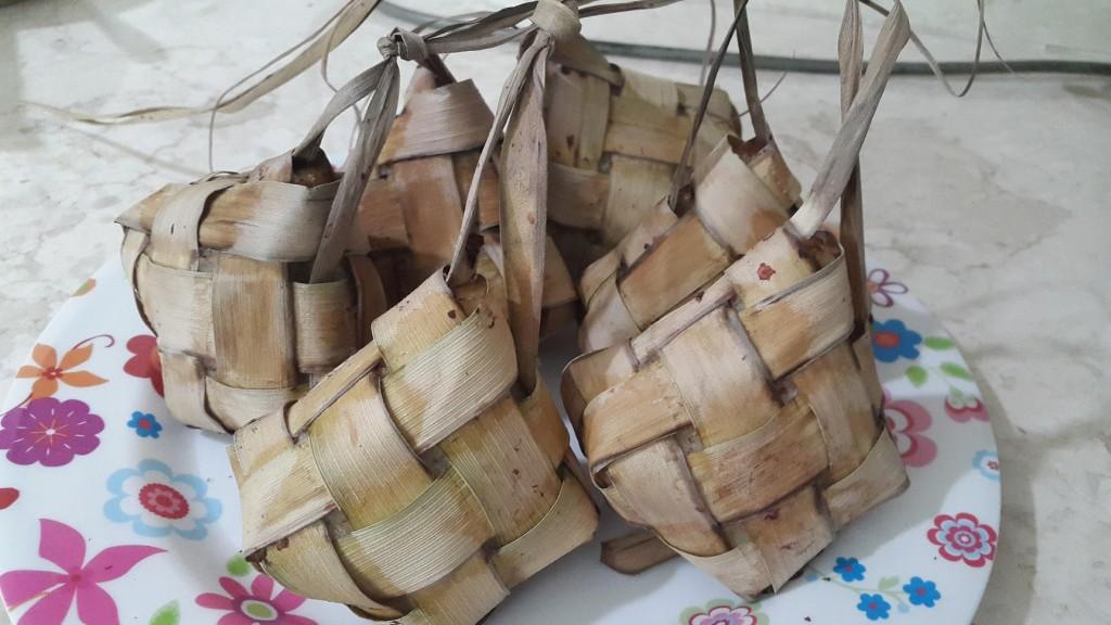 Cooked Ketupat