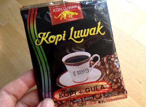 Instant Kopi Luwak sachet