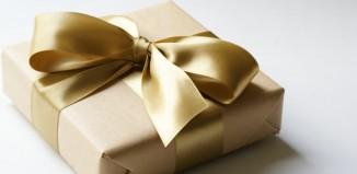 Elegant gift wrapping