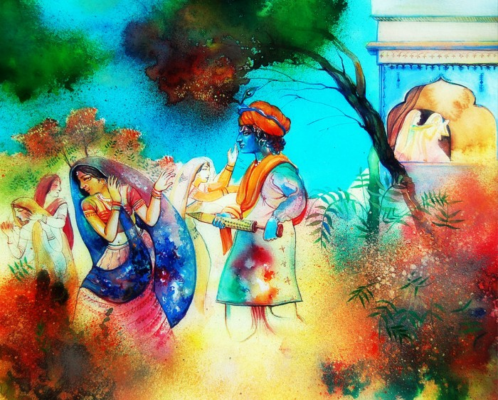 The Legend of Kama and the Origin of Holi Festival