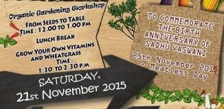 Green Saturday by Sadhu Vaswani Mission on 21st Nov