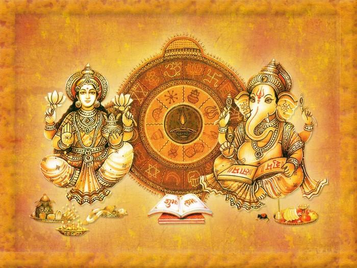 Diwali Puja Preparation