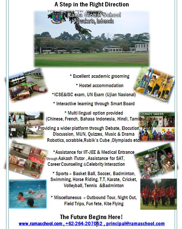 Rama Global School, Purwakarta, Indonesia - Brochure
