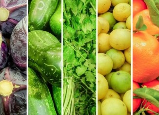 A Rainbow of Healthy Food