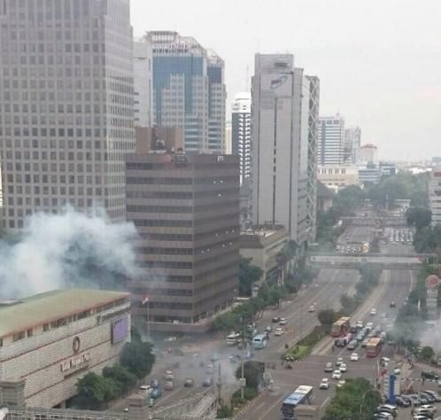 Bomb Blasts in Jakarta on Thursday, 14th Jan, 2016