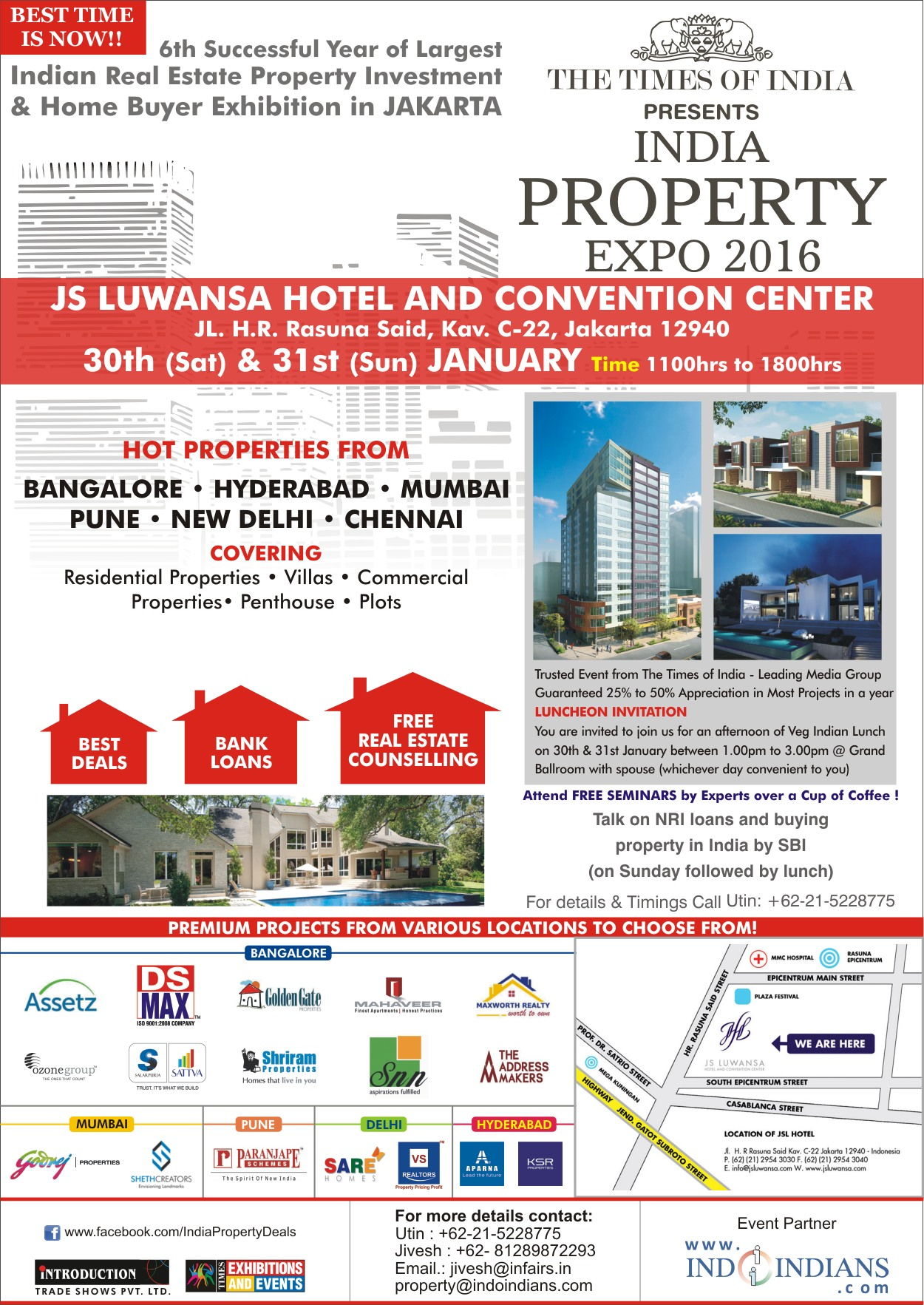 TIMES PROPERTY EXPO INDONESIA 2016