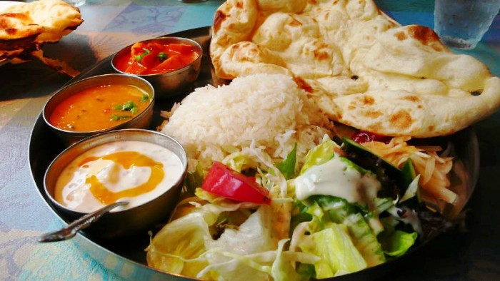 Image result for photo of a indian vegetarian meal