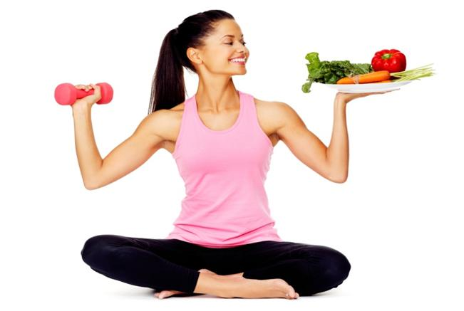balance food and fitness